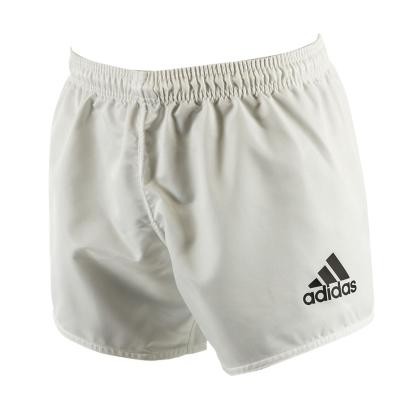 adidas Rugby Shorts White front 1