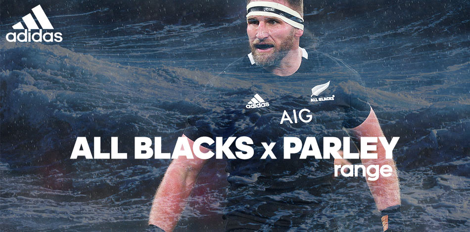 All Blacks X Parley Range - SHOP NOW!