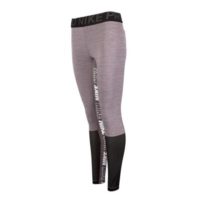 Nike Womens Running Tights Gunsmoke - Front 1