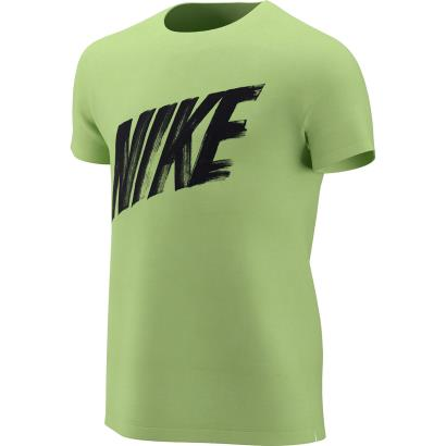 Nike Dry Training Tee Lime Blast Kids - Front