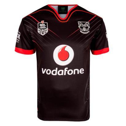 NZ Warriors Rugby League Home Shirt S/S 2018 - Front