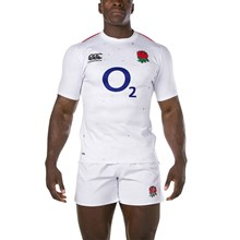 England Vapodri Pro Home Rugby Shirt S/S 2019 - Model 1