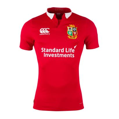 British and Irish Lions 2017 Test Rugby Shirt S/S - Front