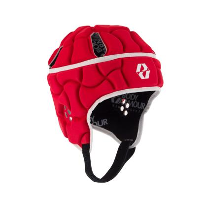 Body Armour Club Headguard Red Kids front