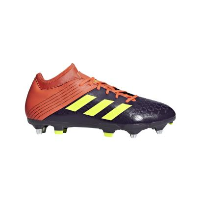 adidas Malice Elite Rugby Boots Legend Purple - Front 1