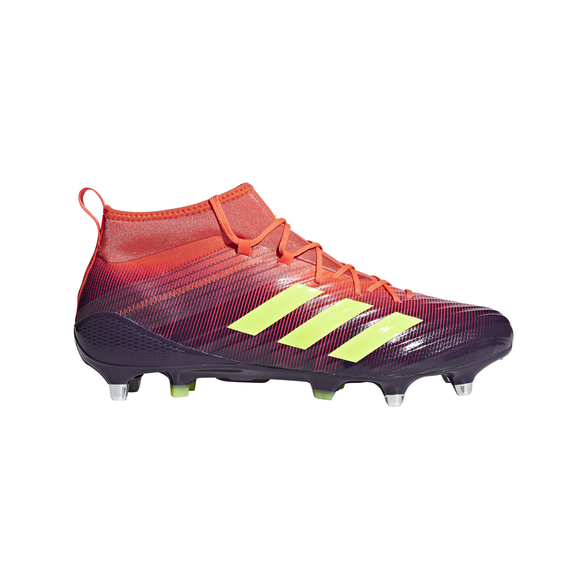 purchase cheap aa15f 67f0b adidas Predator Flare Rugby Boots Legend Purple - Front 1