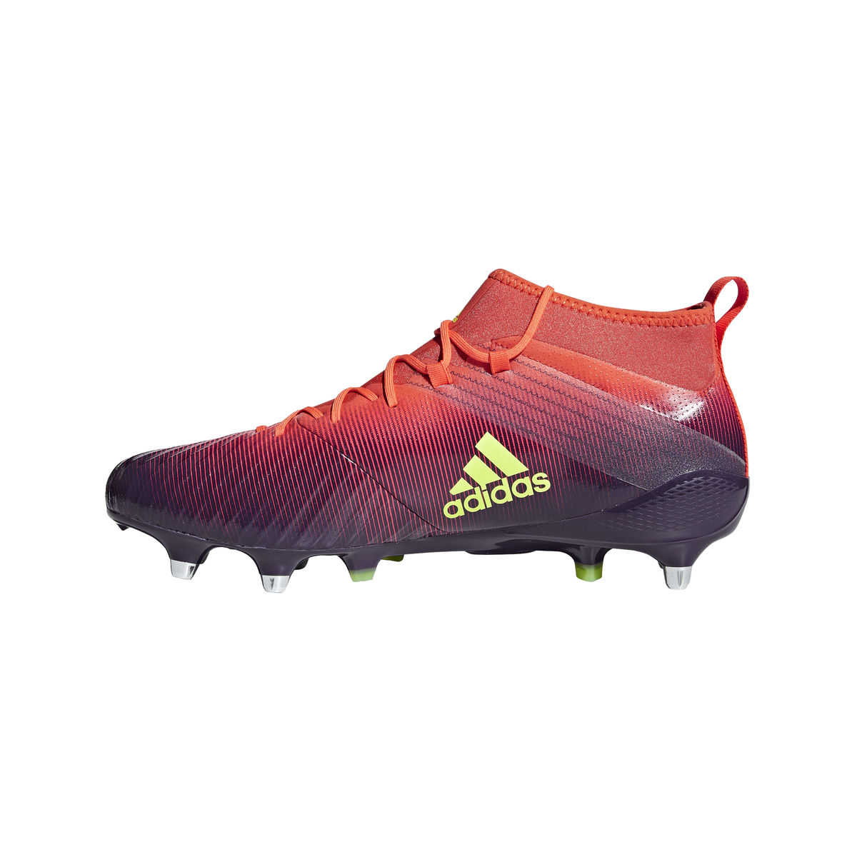 0cfd30136 ... adidas Predator Flare Rugby Boots Legend Purple - front 2 ...