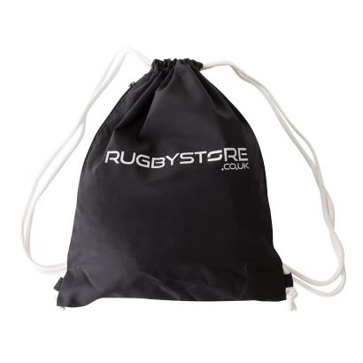 rugbystore Gym Sack Black - Front