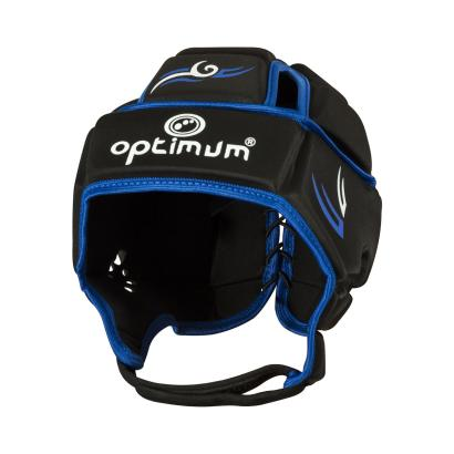 Optimum Hedweb Tribal Headguard Black/Blue - Front