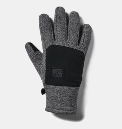 Under Armour Coldgear Infrared Fleece Gloves Black - Front