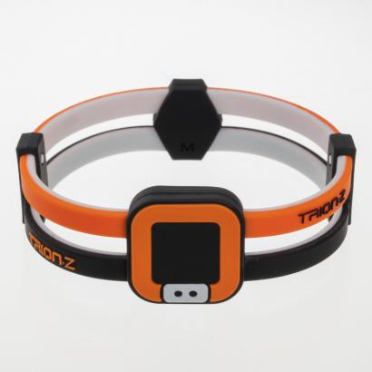 Trion:Z Duoloop Bracelet Black/Orange - Front