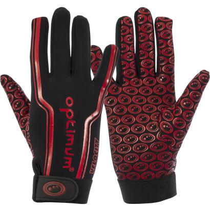 Optimum Velocity Full Stik Mits Black/Red Kids - Front