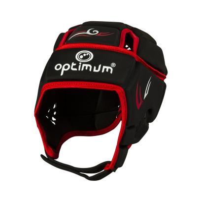 Optimum Hedweb Tribal Headguard Black/Red - Front