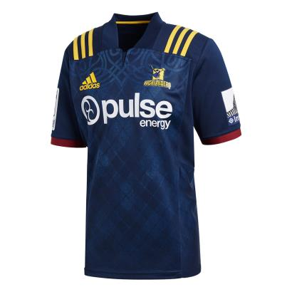 Super Rugby Highlanders Home Shirt S/S 2018 - Front