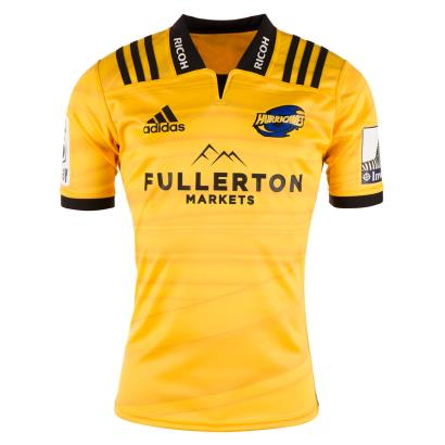 Super Rugby Hurricanes Home Shirt S/S 2018 - Front