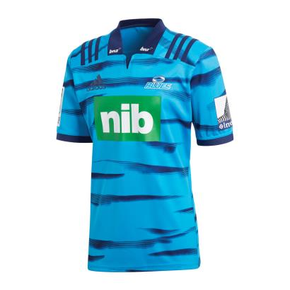 Super Rugby Blues Home Shirt S/S 2018 - Front