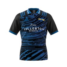 Super Rugby Hurricanes Training Shirt Black S/S 2018