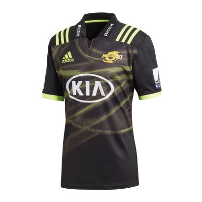 Super Rugby Hurricanes Alternate Shirt S/S 2018 - Front