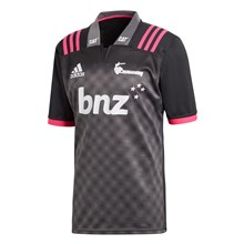 Super Rugby Crusaders Training Shirt Black S/S 2018