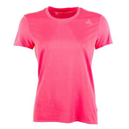 adidas Womens Supernova Tee Pink - Front