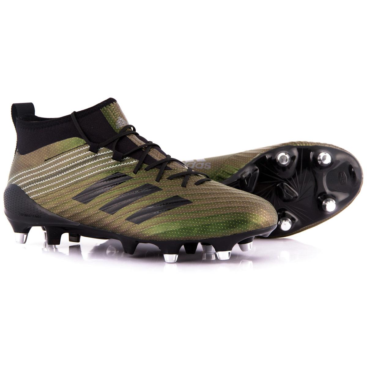 Mens Core Black Adidas Predator Sg Rugby Boots Rugbystore