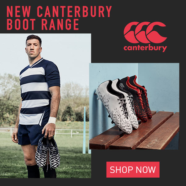 New Canterbury Boot Range - SHOP NOW!