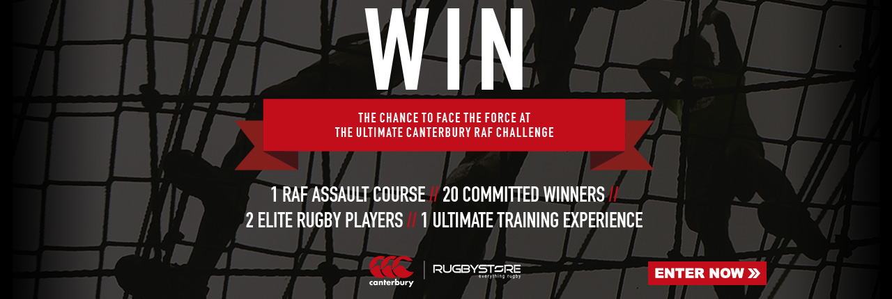 Win the chance to take on an RAF Assault Course with Dylan Hartley