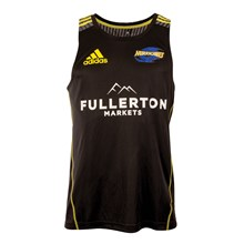 Super Rugby Hurricanes Training Singlet Black 2018