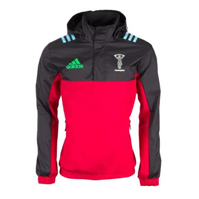 Harlequins All Weather Jacket Red Beauty 2018 - Front