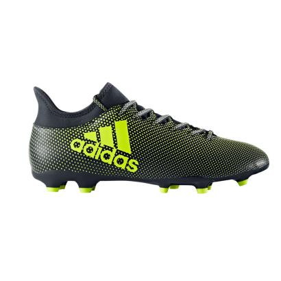 adidas X 17.3 FG Boots Navy - Side 1