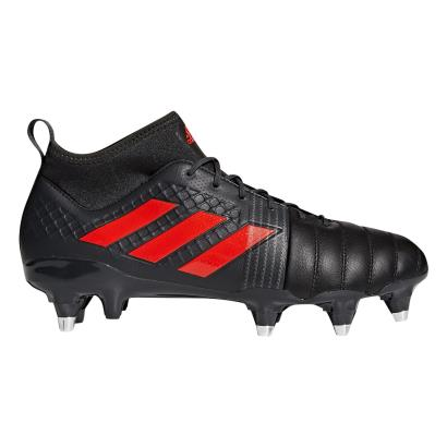 adidas Kakari Force SG Rugby Boots Black - Side 1