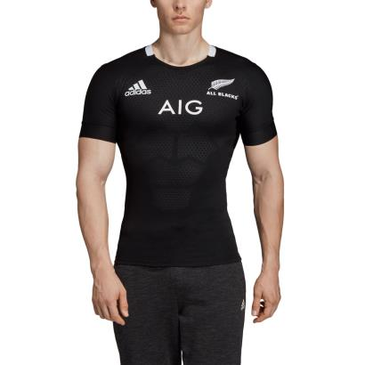 All Blacks Performance Home Rugby Shirt S/S 2019 - Model 1