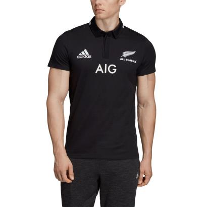 All Blacks Supporters Home Rugby Shirt S/S 2019 - Model 1