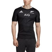 All Blacks Home Rugby Shirt S/S 2019 - Front