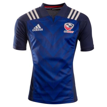 USA Alternate Rugby Shirt S/S 2019 - Front