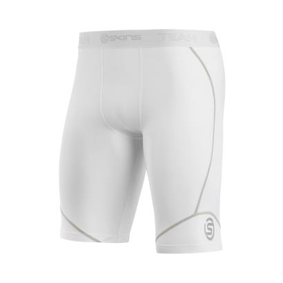 Skins DNAmic Team Half Tights White - Front