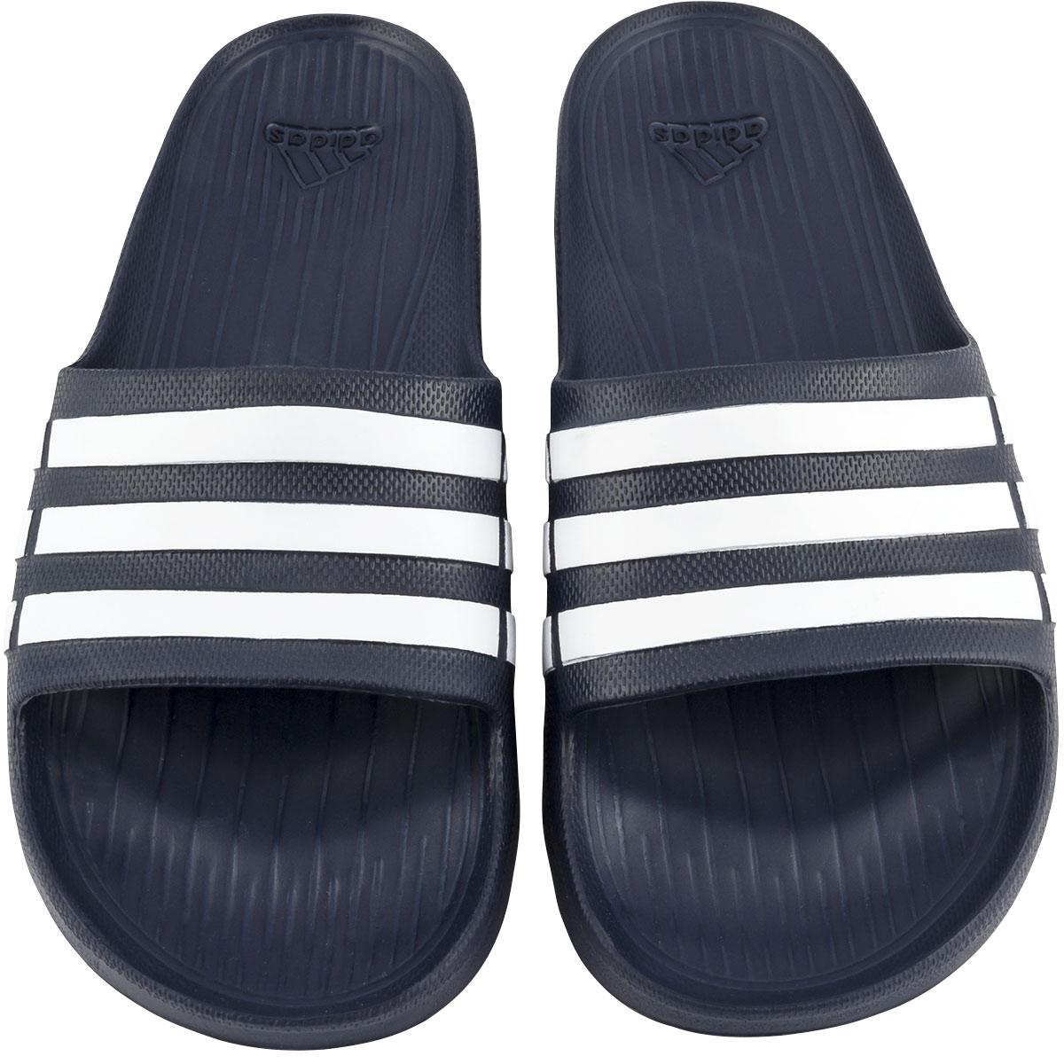 adidas Duramo Slide Sandals - Navy  cc53d0038