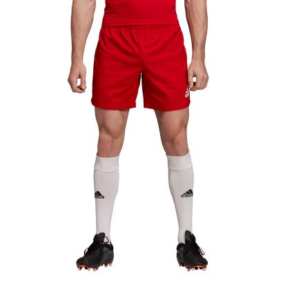 adidas 3S Rugby Match Shorts Red - Model 1