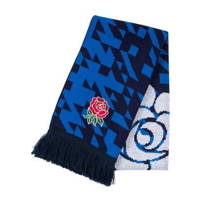 England Acrylic Scarf Directoire Blue 2019 - Front 1