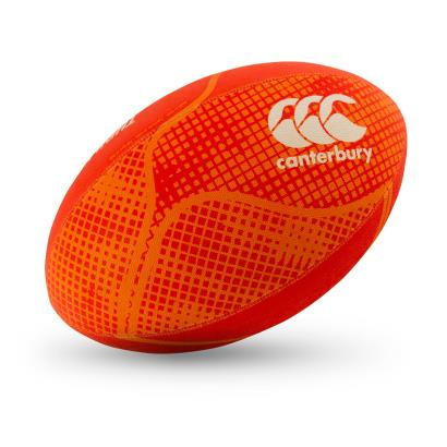 Canterbury Thrillseeker Training Rugby Ball Orange.com - Front 1