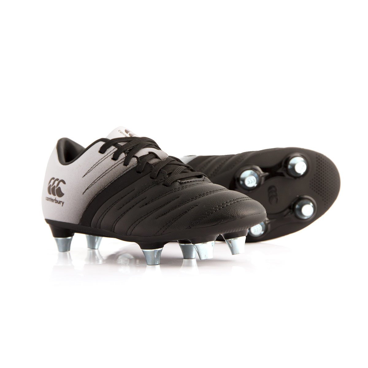 SMU Canterbury Phoenix 2.0 SG Rugby Boots Phantom Kids - Front d7356093cae3