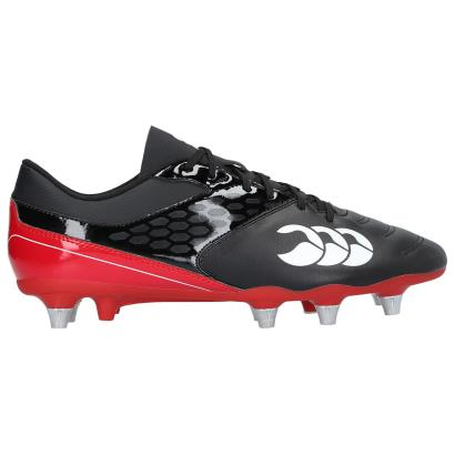 Canterbury Phoenix Raze Rugby Boots Black - Front