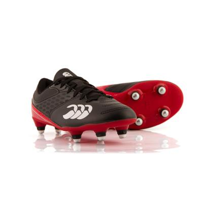 Canterbury Phoenix Raze Rugby Boots Black Kids - Front