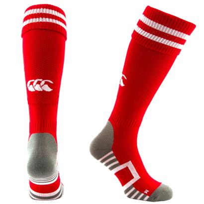 Canterbury Performance Socks Red - Front