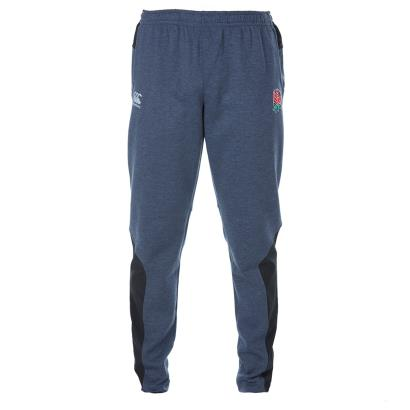 England Off Field Vapodri Tapered Hybrid Pants Nine Iron Marl - Front