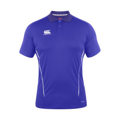 Canterbury Teamwear Team Dry Polo Royal front