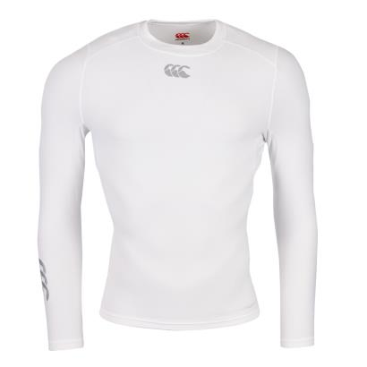 Canterbury Thermoreg Baselayer L/S Cold Top White - Front