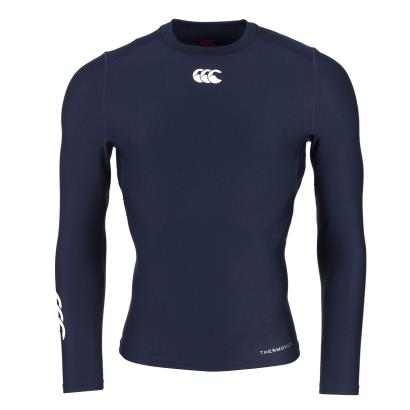 Canterbury Thermoreg Baselayer L/S Cold Top Navy - Front