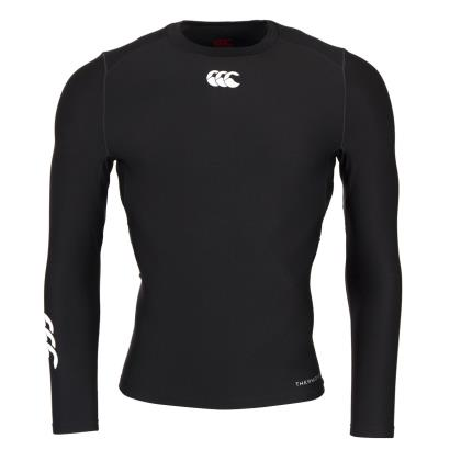 Canterbury Thermoreg Baselayer L/S Cold Top Black - Front