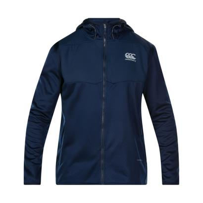 Canterbury Thermoreg Spacer Fleece Full Zip Hoodie Navy - Front